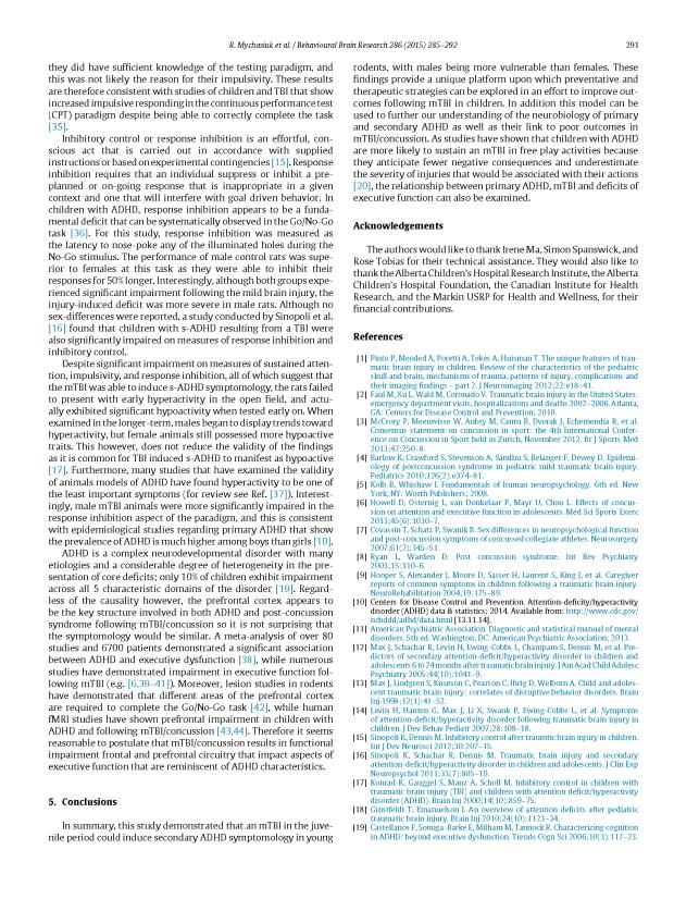 ADHD + mTBI - Mychasiuk, Hehar, Esser_Page_7