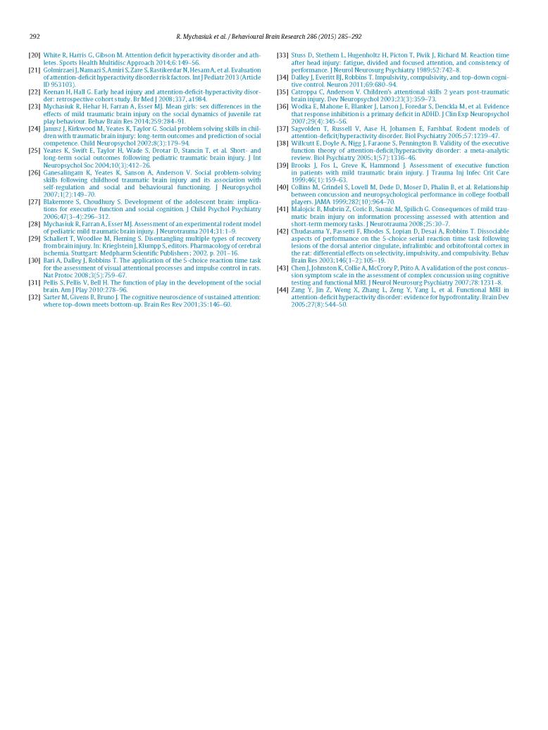 ADHD + mTBI - Mychasiuk, Hehar, Esser_Page_8
