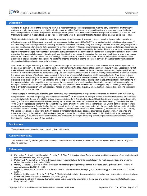 JoVE- Tactile Stim & Golgi_Page_5