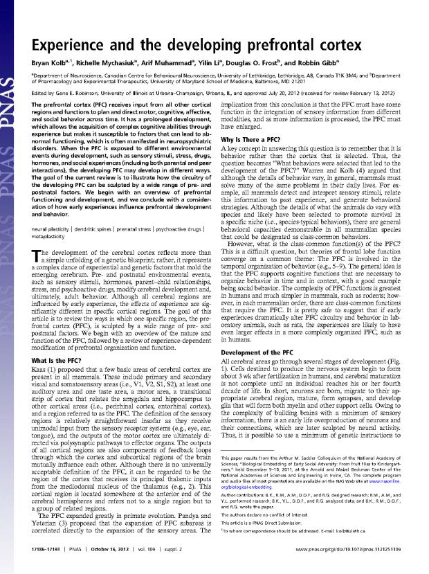 Kolb, Mychasiuk PNAS_Page_1