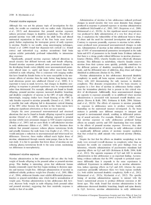 Mychasiuk et al - Prenic + Adolescent Nic_Page_10