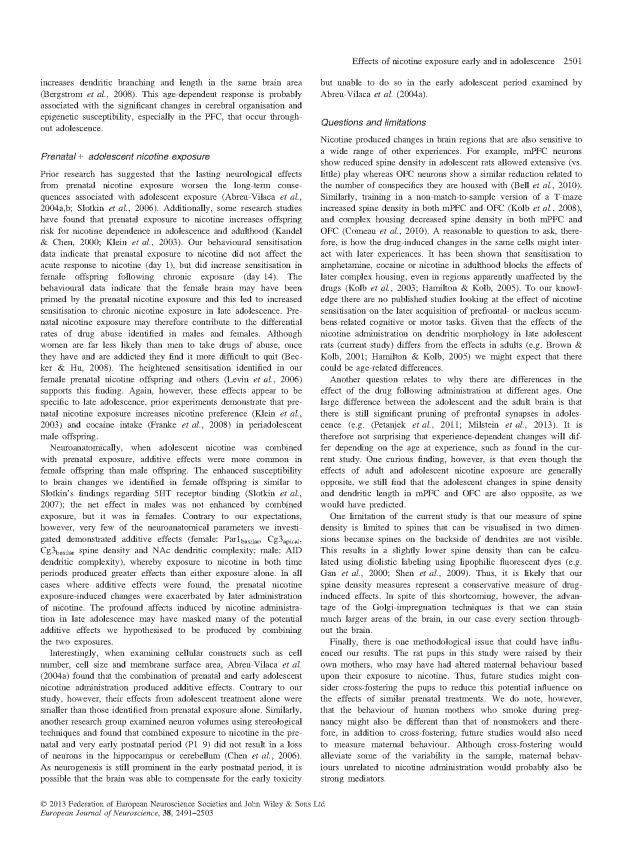 Mychasiuk et al - Prenic + Adolescent Nic_Page_11