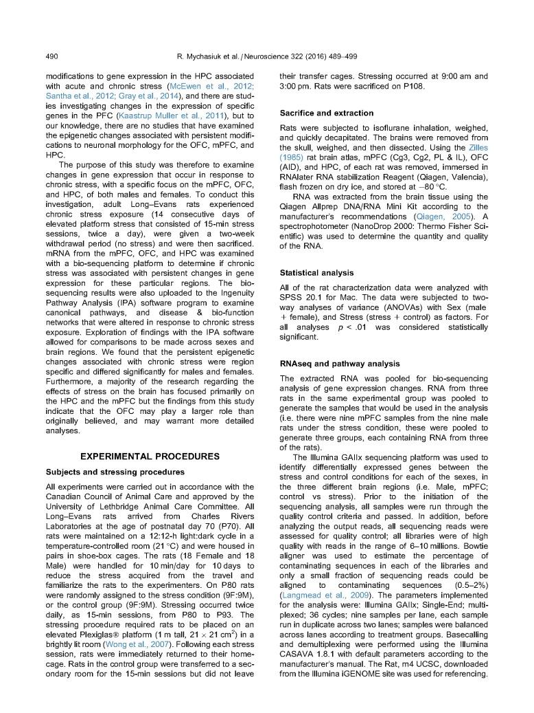 Chronic Stress, Gene Expression- Neuroscience_Page_02