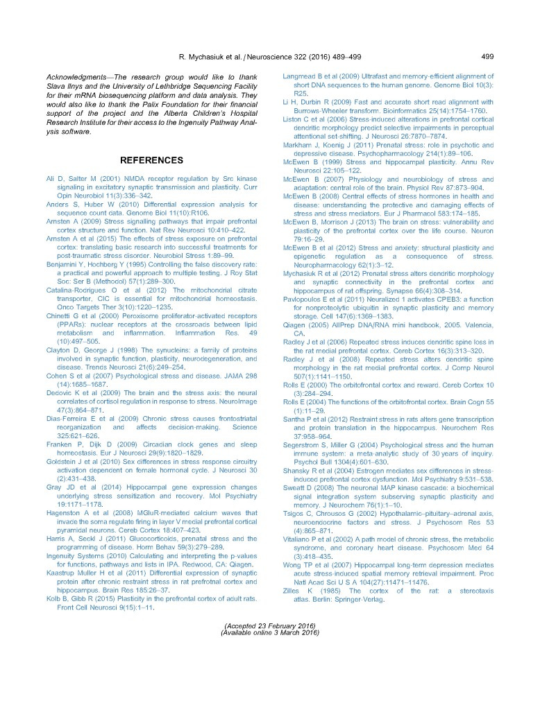 Chronic Stress, Gene Expression- Neuroscience_Page_11