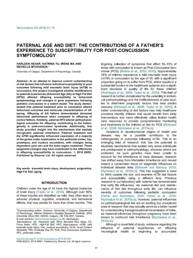 Paternal Age + Diet - Neuroscience_Page_01